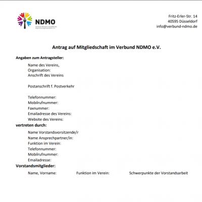 Antrag-auf-Mitgliedschaft-im-Verbund-NDMO Beispielbild
